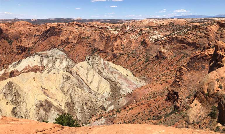 upheaval dome 2nd view point