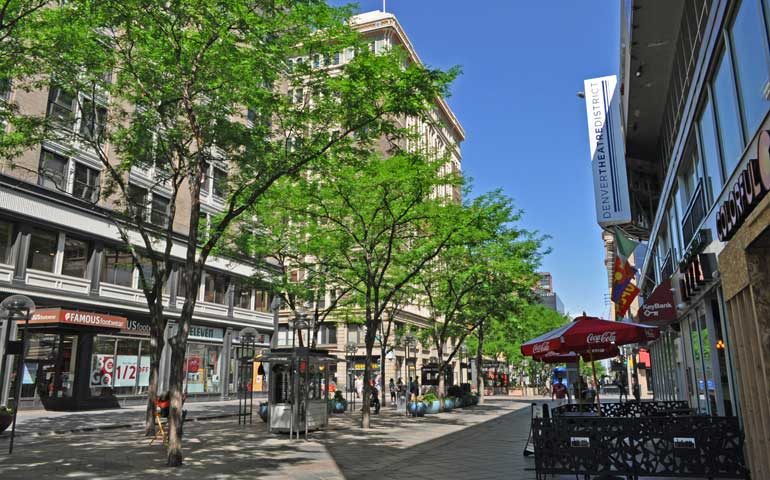 16th street mall Denver