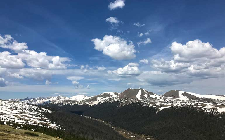 Rocky Mountain National Park - best national park to visit in summer