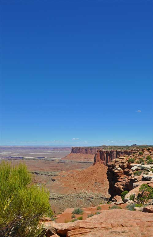 best hikes in canyonlands grand view point
