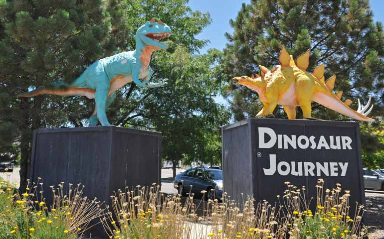 dinosaur journey museum in Fruita