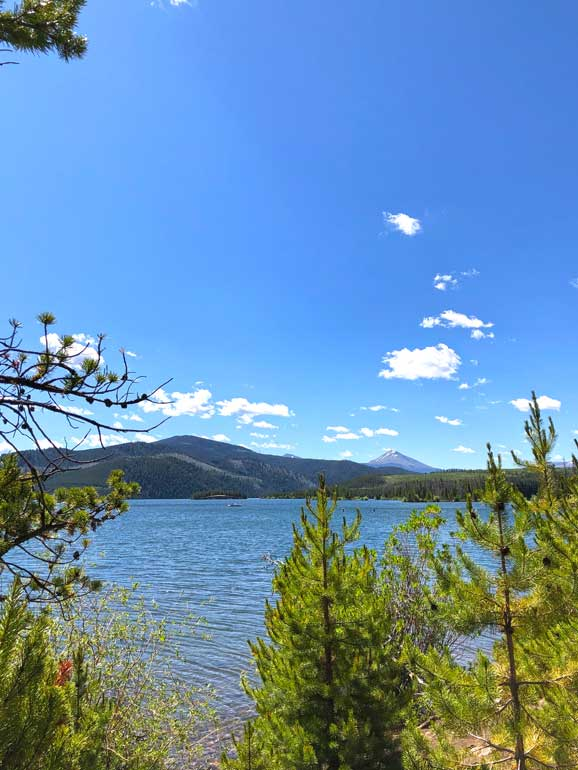 best spots to vacation in colorado - dillon lake