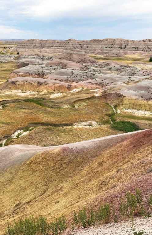 yellow mounds badlands