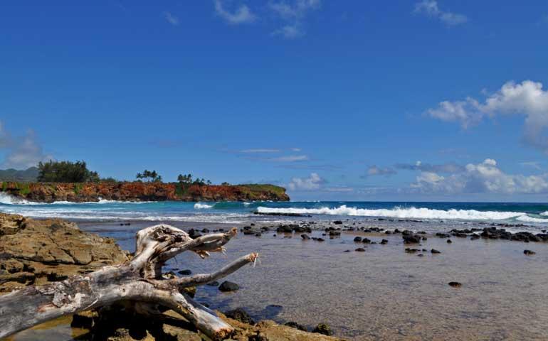 south shore Kauai coastline