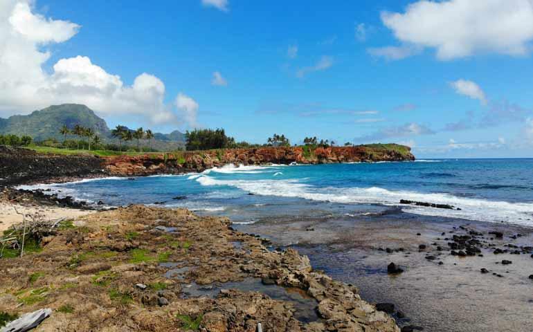 shipwreck beach hike at mahaulepu heritage trail
