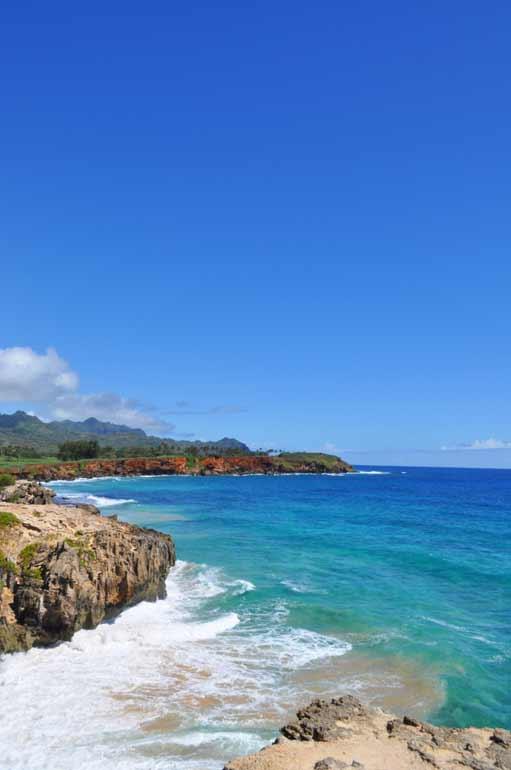kauai's southern coast