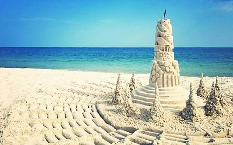 best sand castle on the gulf coast