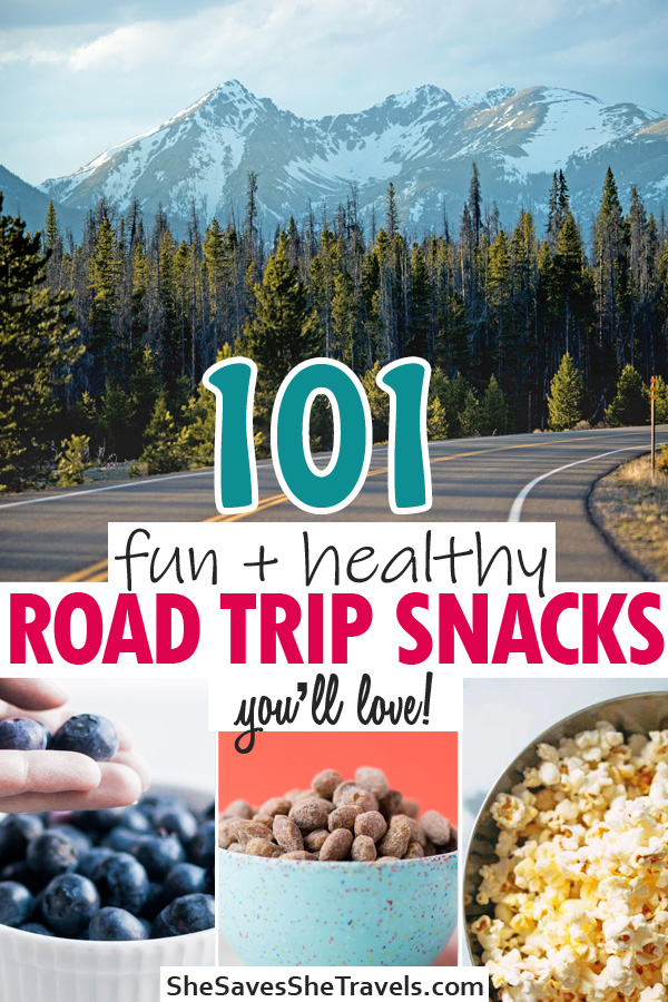 101 fun and healthy road trip snacks you'll love
