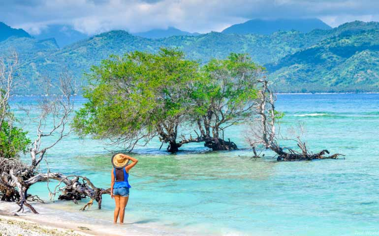 island vacations cheap gili trawangan
