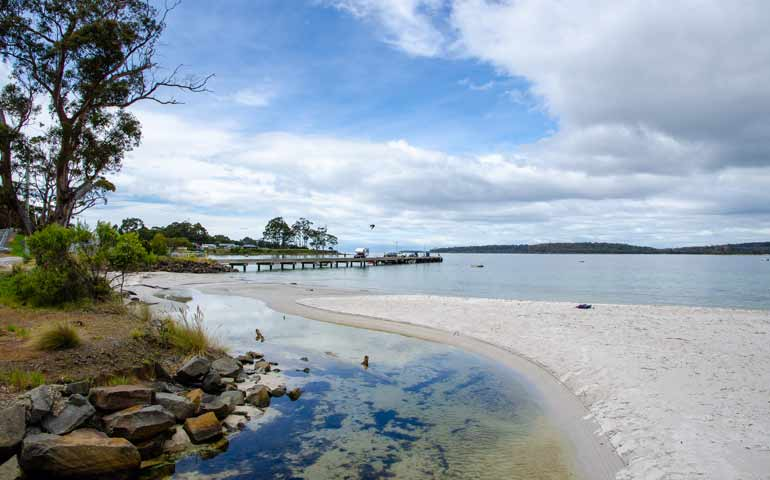 Southport Beach Tasmania