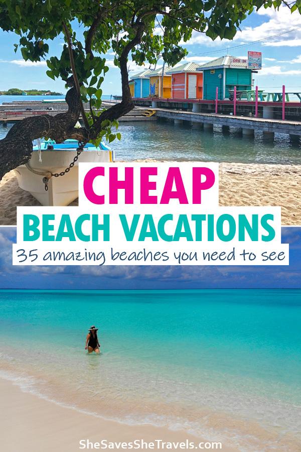 cheap beach vacations 35 amazing beach