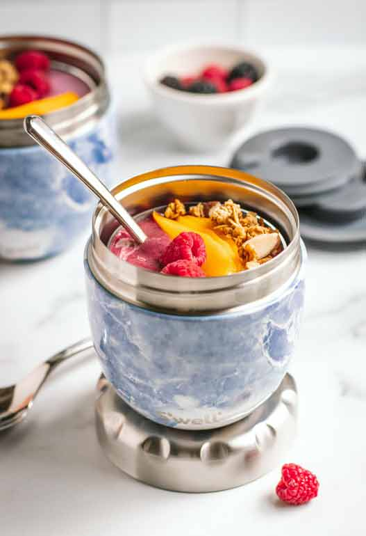 portable yogurt container