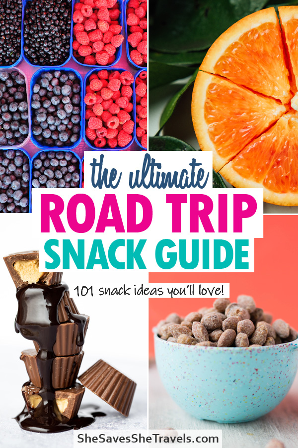 the ultimate road trip snack guide