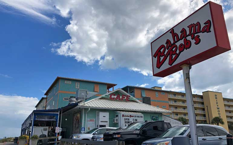 restaurants on the beach gulf shores