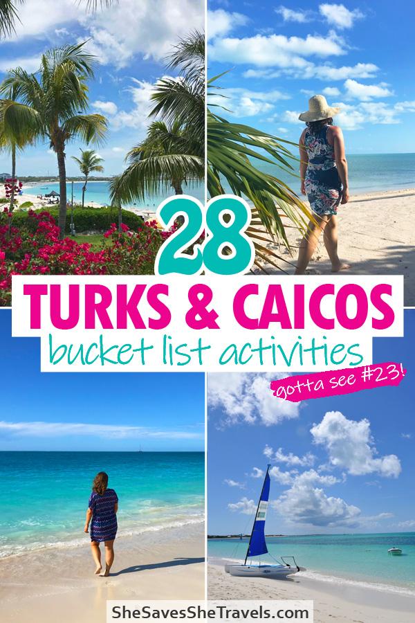 28 turks and caicos bucket list activities