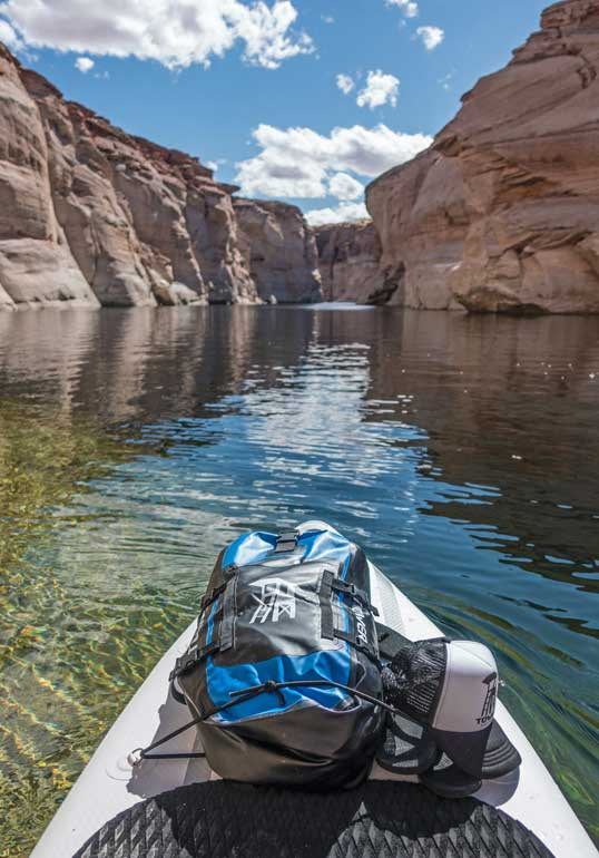 moab utah paddleboarding