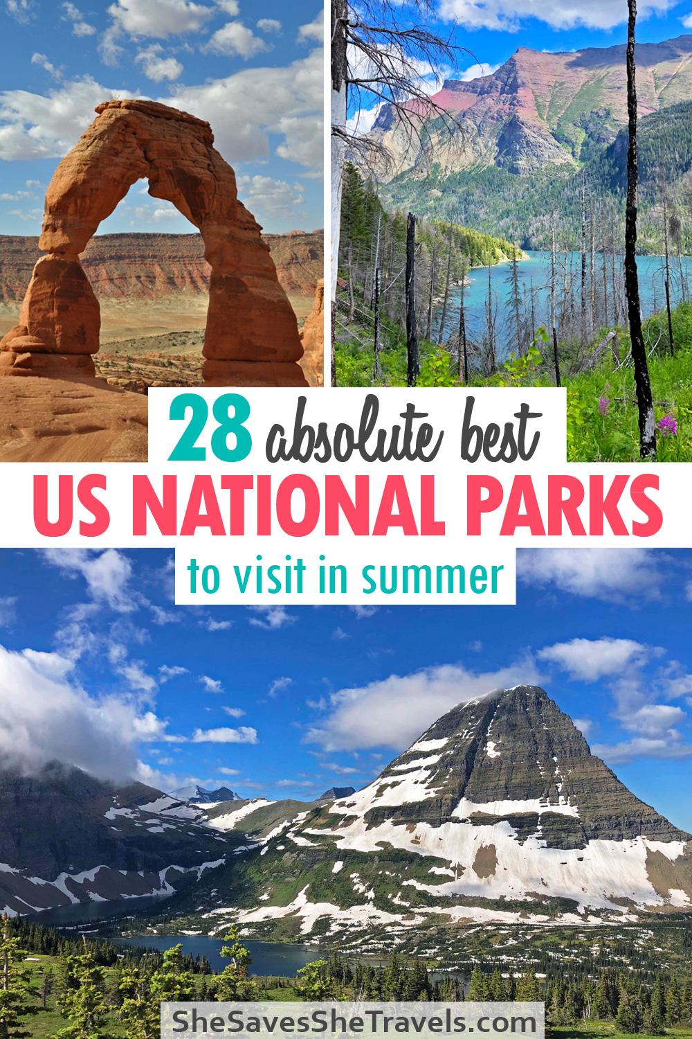 28 absolute best us national parks to visit in summer