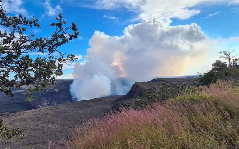 Volcanoes National Park Hawaii