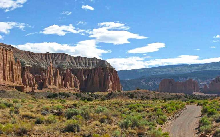 Best national park to visit in June - Capitol Reef