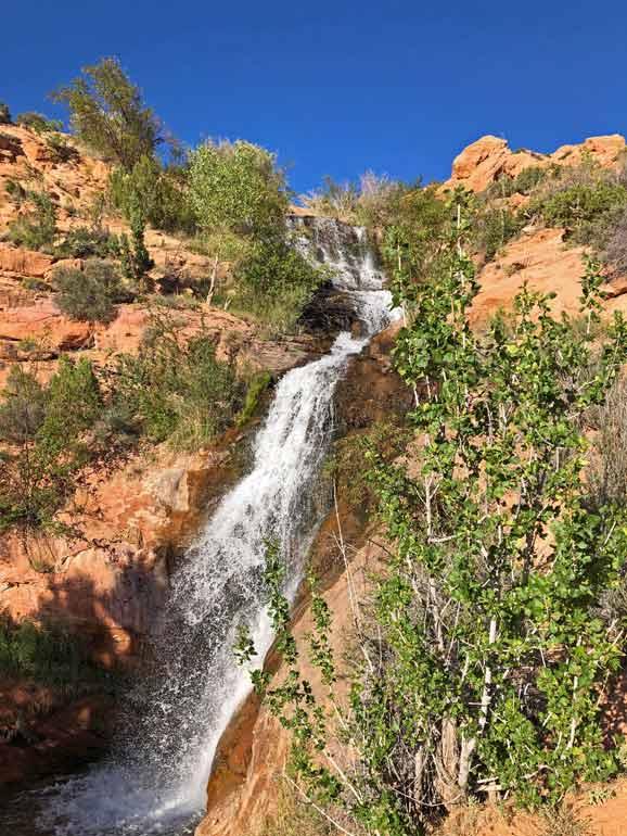 Faux Falls, Moab, Utah