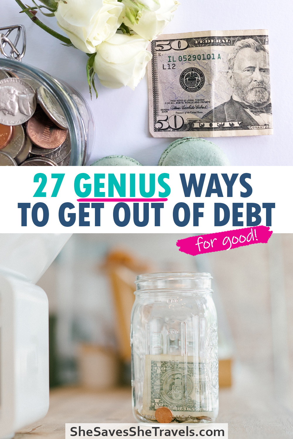 27 genius ways to get out of debt