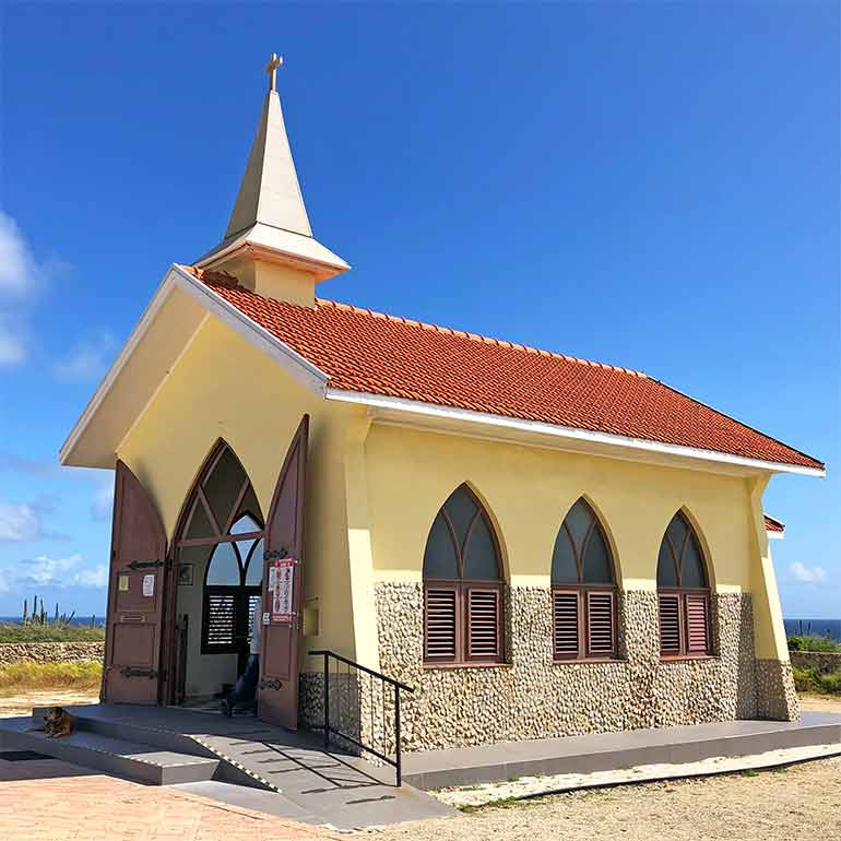 things to do in aruba alto vista chapel