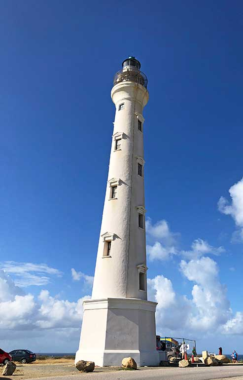 California Lighthouse Aruba