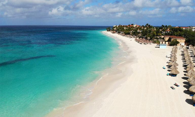 best views in aruba