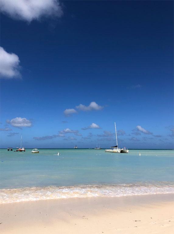 view of Palm Beach, aruba
