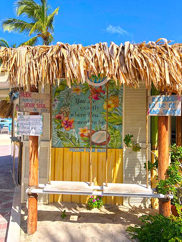 most instagrammable places Palm Springs aruba