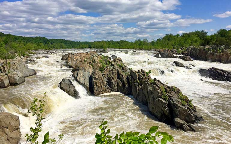 great falls park virginia hike