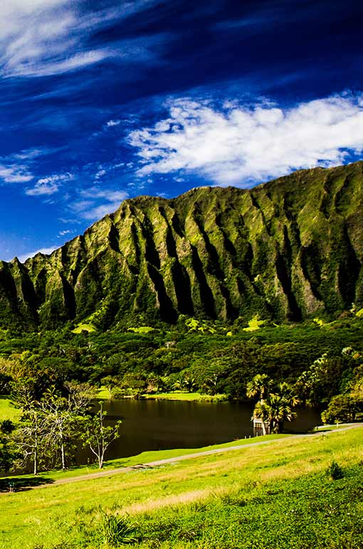 easy hiking trails Oahu with views