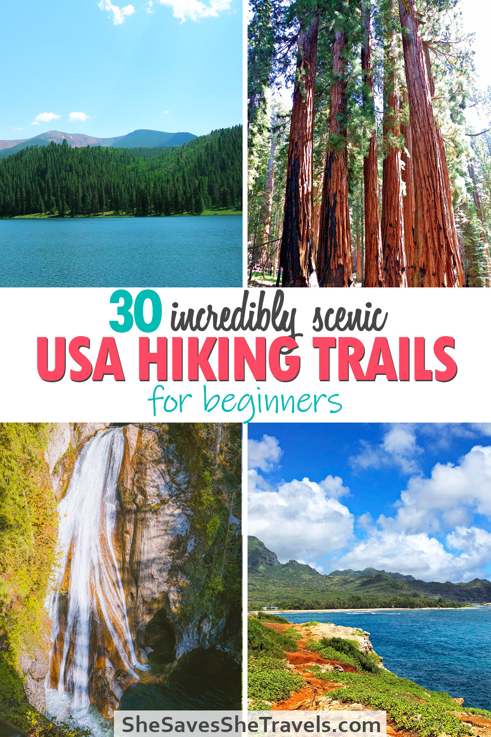 30 incredibly scenic usa hiking trails for beginners