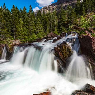 15 Beautiful Waterfalls in Glacier National Park You'll Want to See