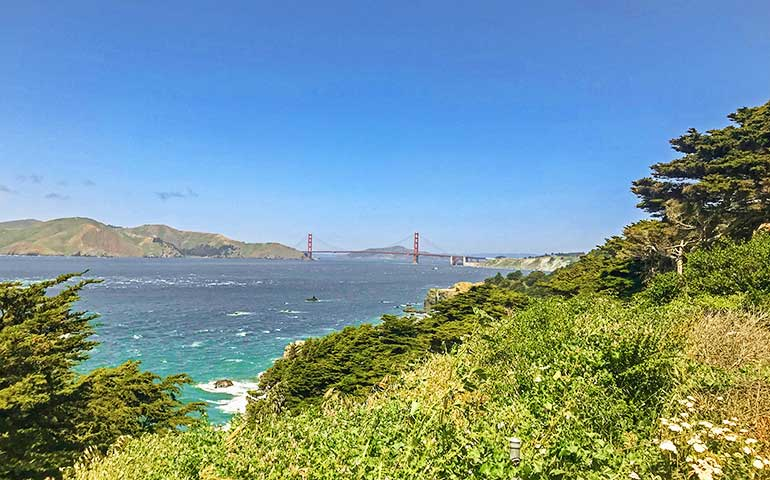 san Fransisco easy hiking trails