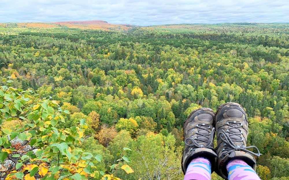 midwest hiking superior trail Minnesota