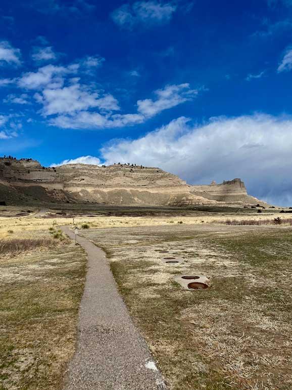 Scotts bluff hike Nebraska