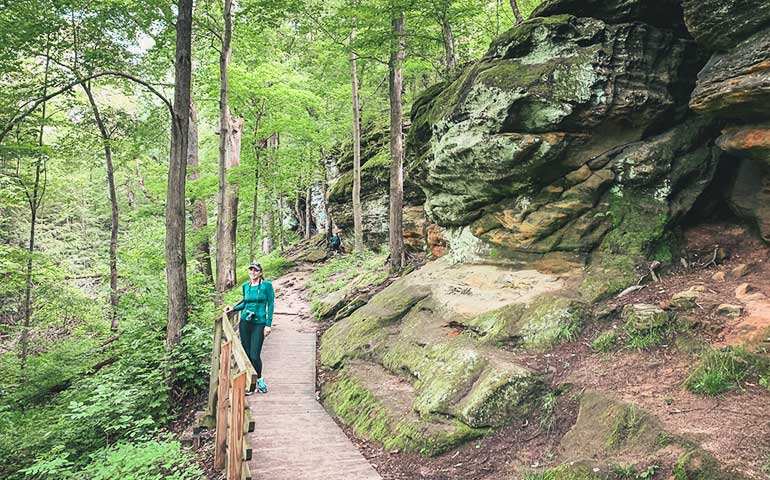 trail at cuyahoga valley national park