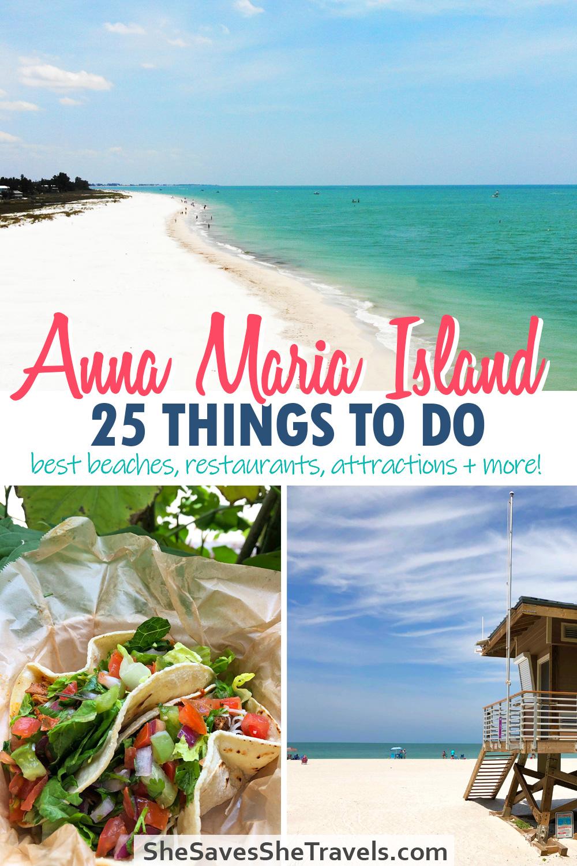 Anna Maria Island 25 things to do