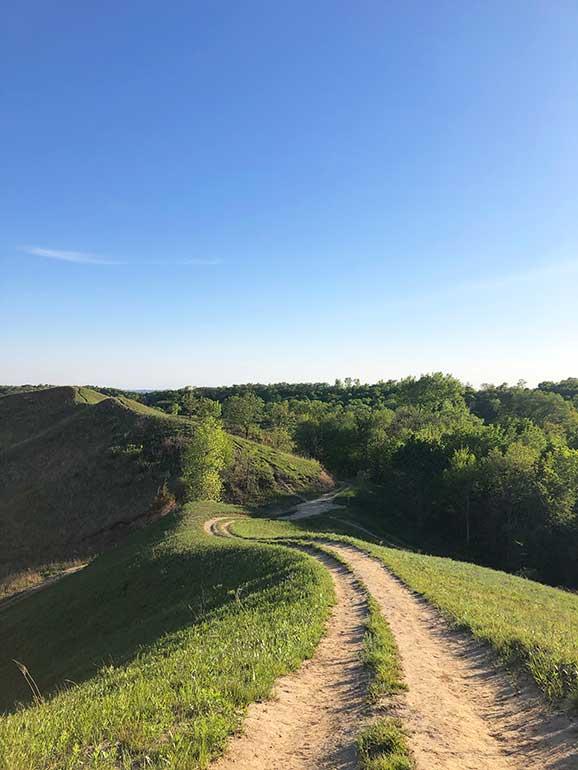 loess hills hiking