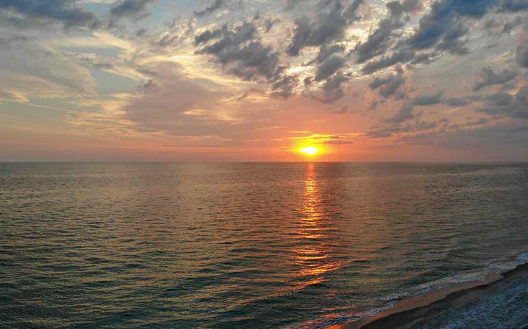 sunset over Anna Maria Island