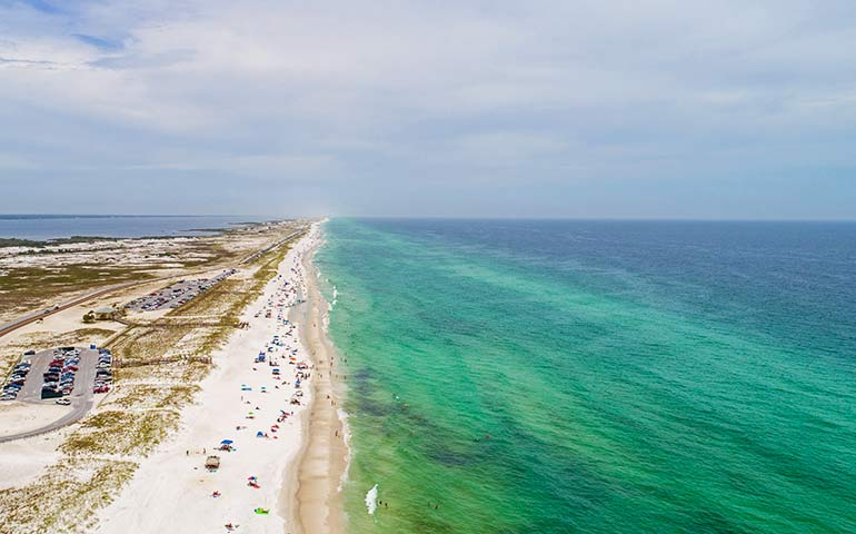 gulf coast beaches