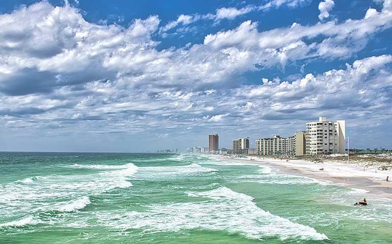 best gulf beaches Panama City