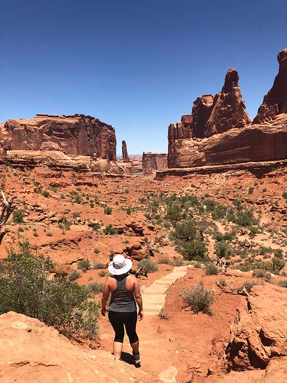 arches national park itinerary