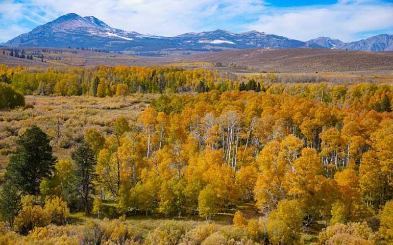 Sierra california best places to visit in October in USA