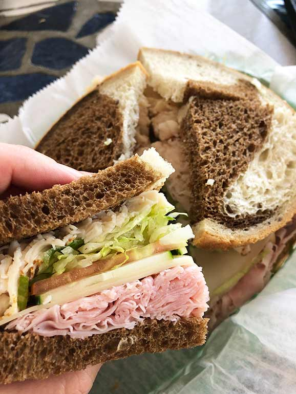 annas deli sandwich