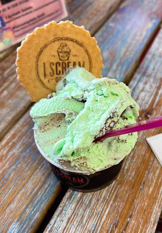 best ice cream in Breck