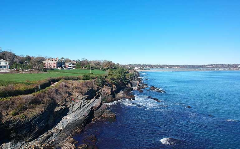 October vacation spots Newport Rhode Island