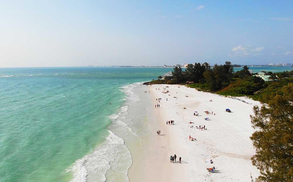 view of northern siesta beach