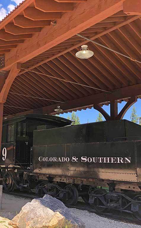 Breck railroad park